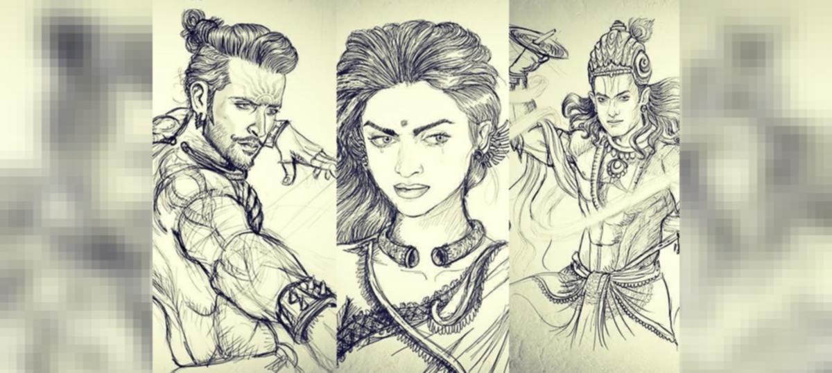 Deepika As Draupadi Aamir As Krishna Hrithik As Karna Is This The Complete Cast Of Mahabharat