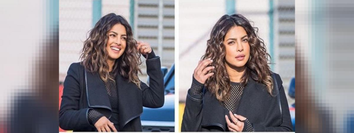 Priyanka Chopra Makes Another Style Statement With Her Haircut For
