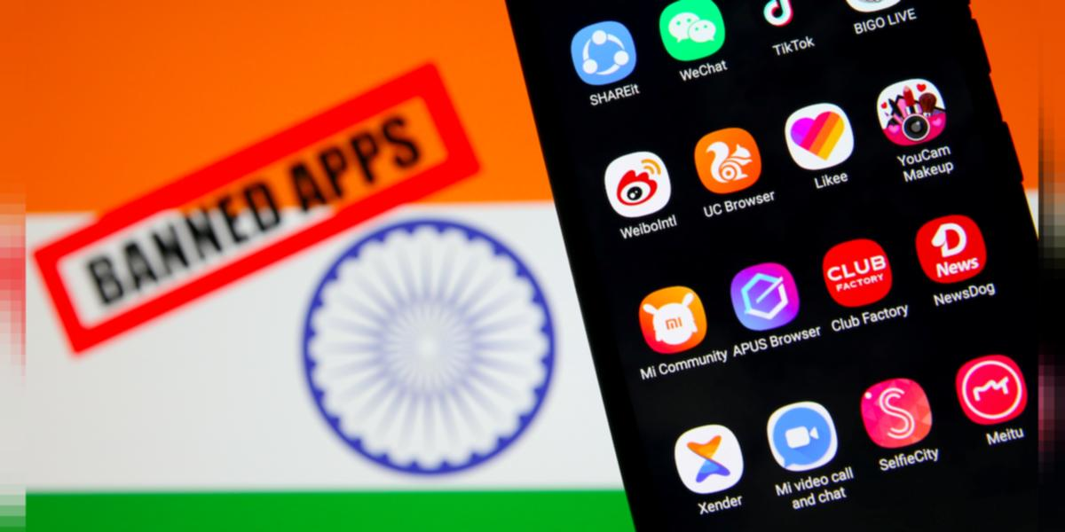Government Bans 47 More Chinese Apps