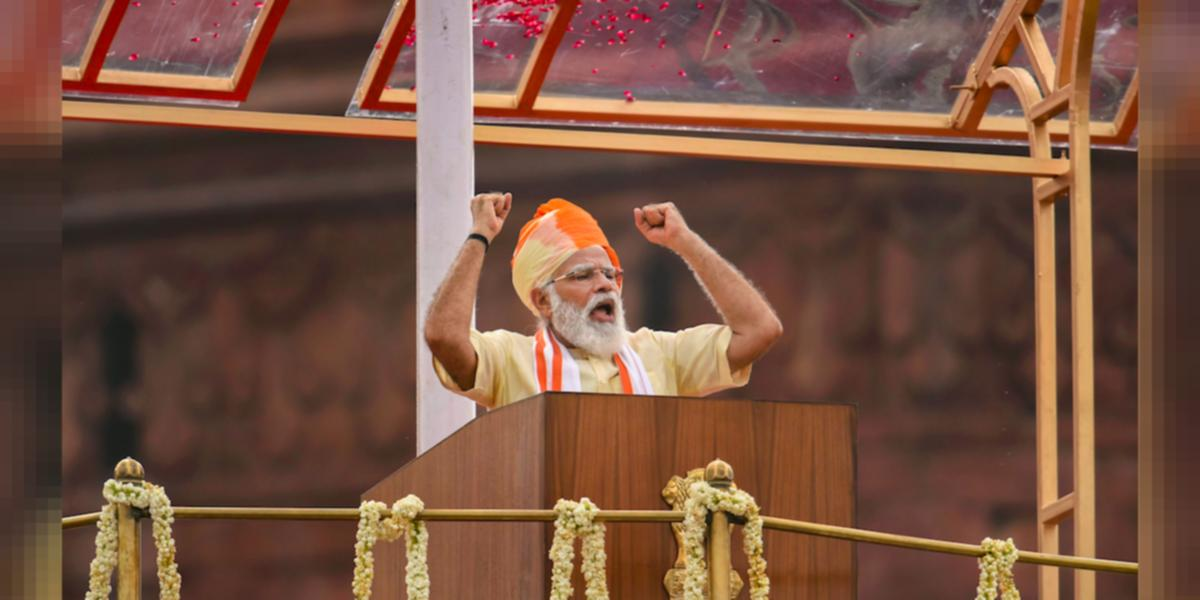 Borders, Health, Election in Kashmir: Here's What PM Modi Spoke on in His I-Day Speech