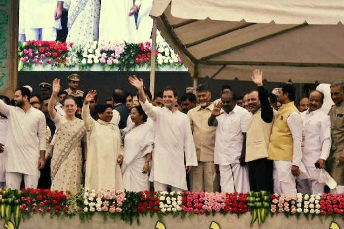 Opposition unity at HDK swearing-in: Why Naidu attended and why KCR didn't