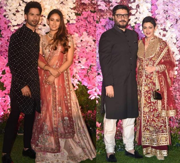 Celebs at Akash Ambani and Shloka Wedding Pics