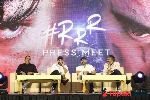 RRR Movie Press Meet Photos 02