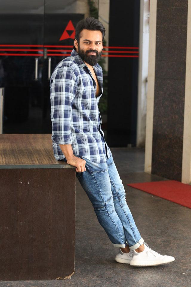 Sai Dharam Tej New Stills