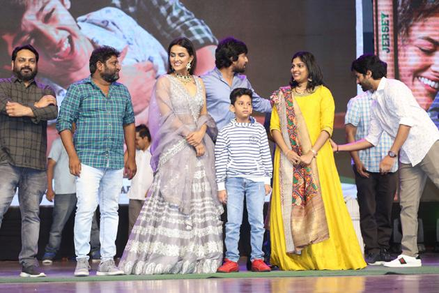 Nani Jersey Pre Release Event Photos