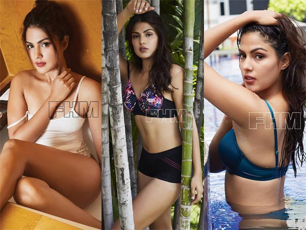Rhea Chakraborty Photo Shoot for FHM Photos