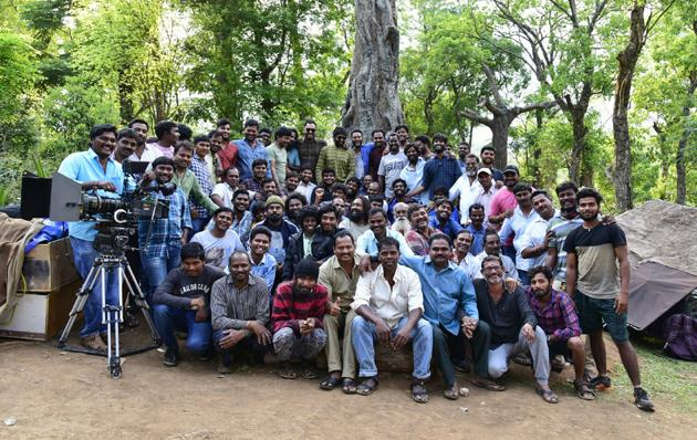 Akasavaani Onlocation Stills