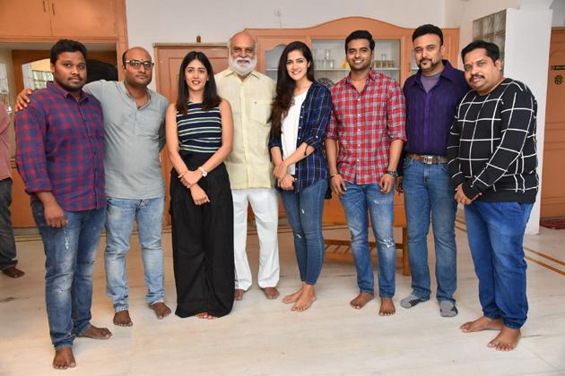 Sai Sushanth And Chandini And Simran New Movie Opening Photos