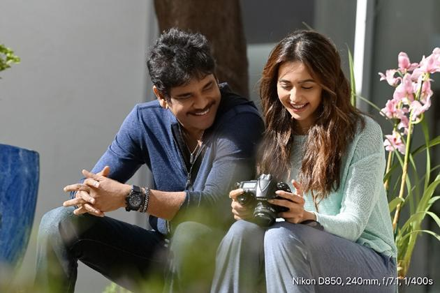 Nagarjuna and Rakul Preet Singh From Manmadhudu 2 Movie