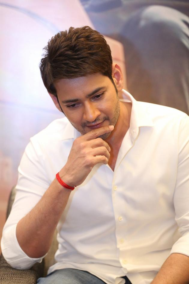 Mahesh Babu Maharshi Interview Photos