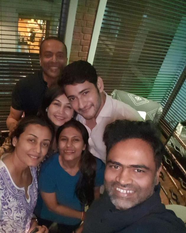 Maharshi Team Celebrations Photos