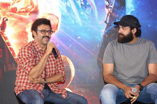 Aladdin Movie Press Meet Pics