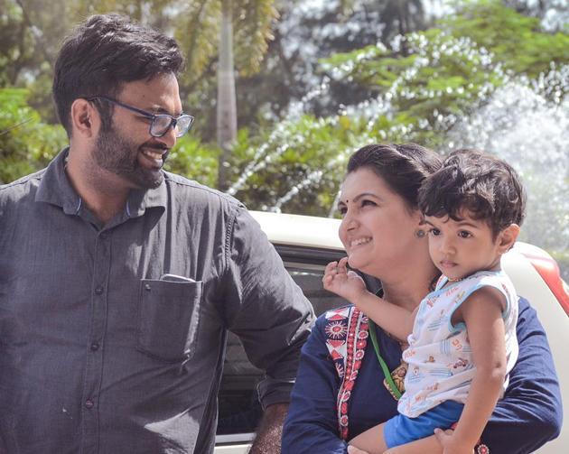 Saranya Mohan Family Photos