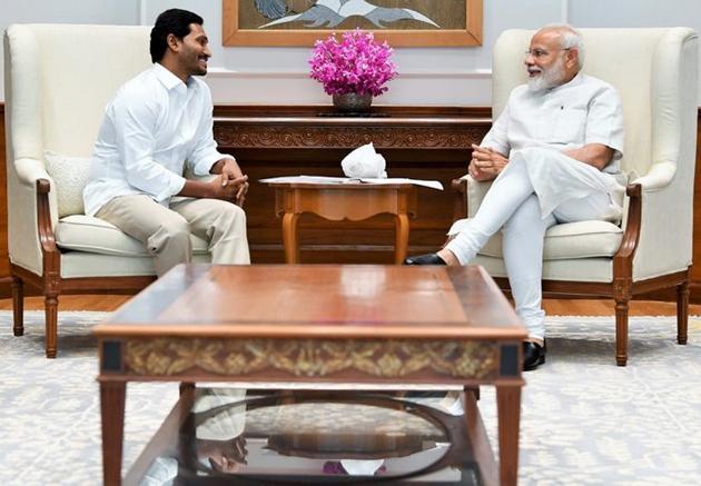 YS Jagan Meets Narendra Modi Photos