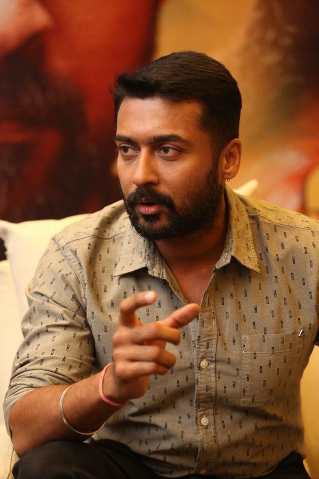 Suriya Interview Photos