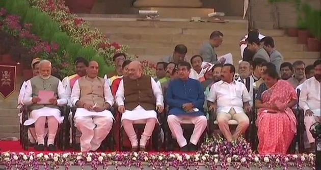 Narendra Modi Swearing in Ceremony Photos