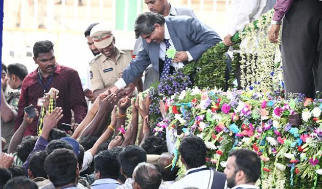 Jagan Swearing in Ceremony Photos