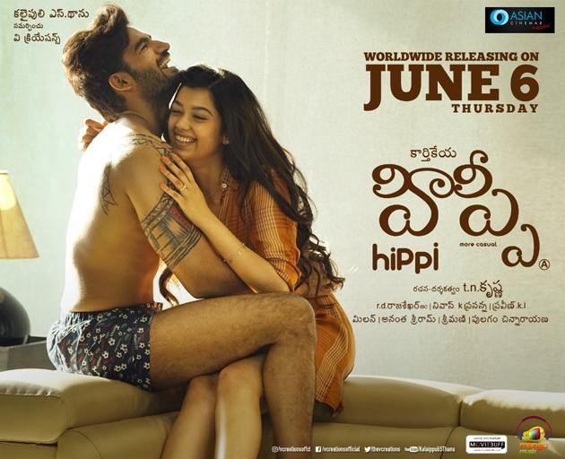 Hippi Movie Latest Posters