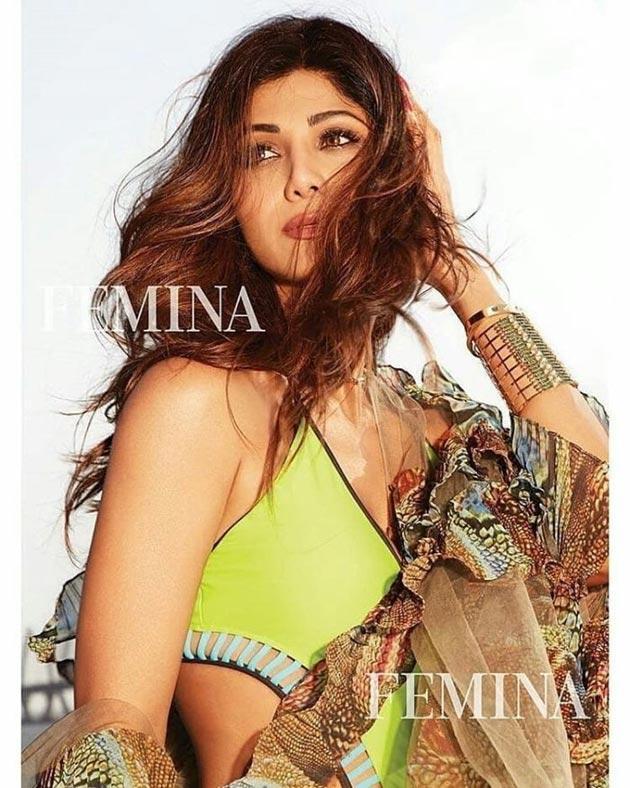 Shilpa Shetty In Bikini Photos
