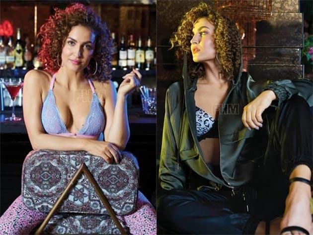 Elli Avram Photo Shoot for FHM