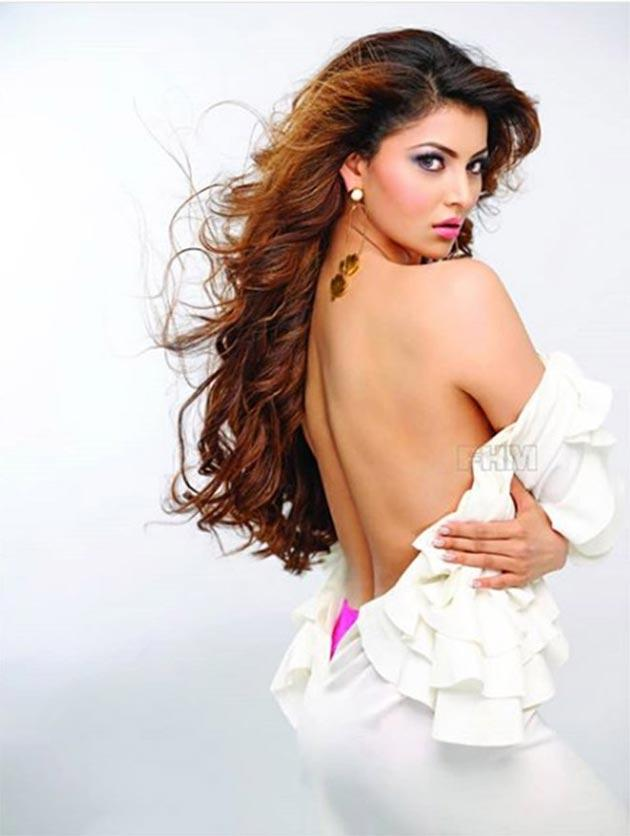 Urvashi Rautela poses for FHM