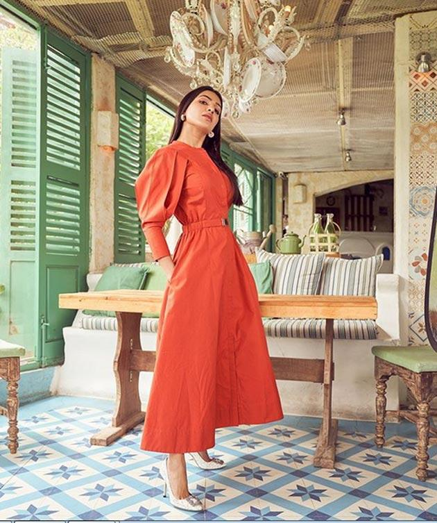 Actress Samantha Insta Pics
