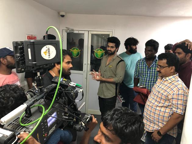 Naga Shourya Joins Shooting Photos