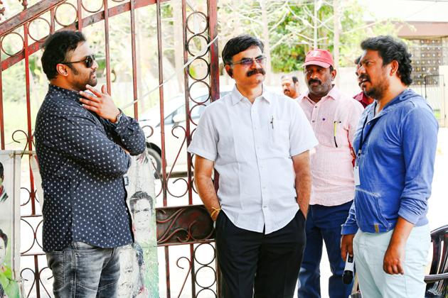 Rakshasudu Movie Working Stills