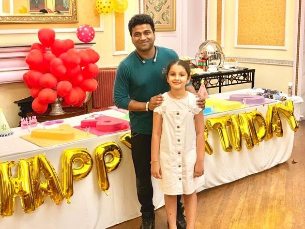 Mahesh Babu Daughter Sitara Birthday Celebrations Phootos
