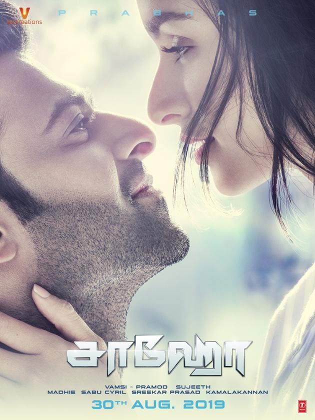 Saaho Movie New Posters