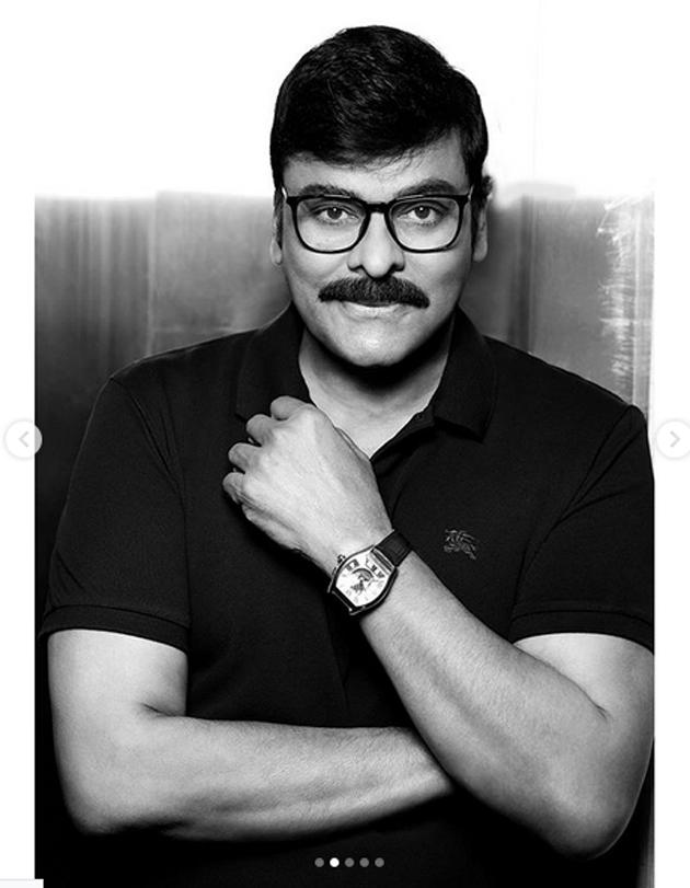 Chiranjeevi Poses for B Positive Magazine Photos