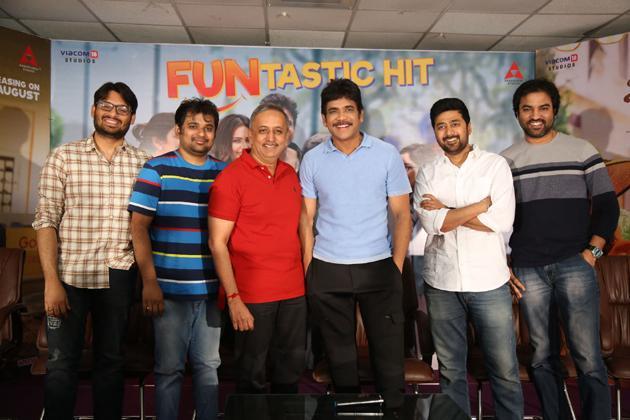 Manmadhudu 2 Successmeet Photos