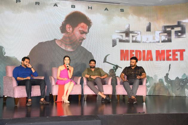 Saaho Press Meet Photos