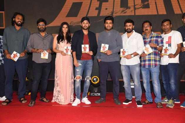 Ranarangam Movie Pre Release Event Photos
