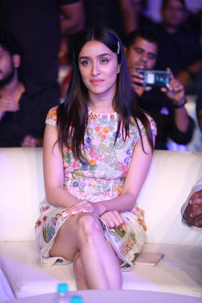 Shradha Kapoor at Saaho Pre Release Photos