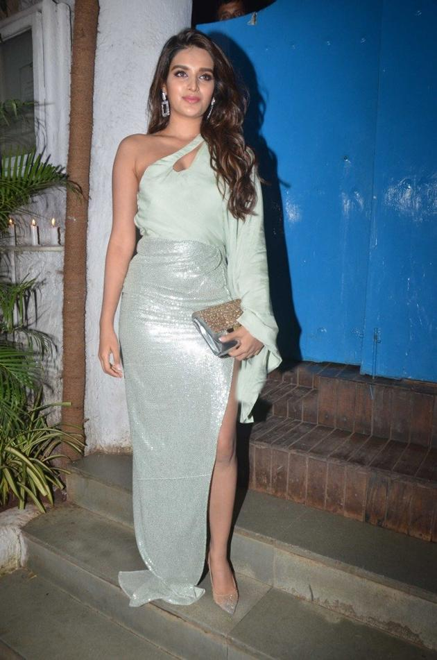 Nidhhi Agerwal At Nikhil Advani Party Photos