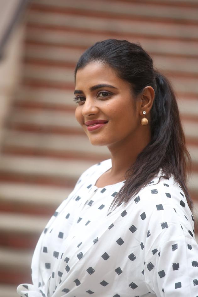 Aishwarya Rajesh Interview Photos