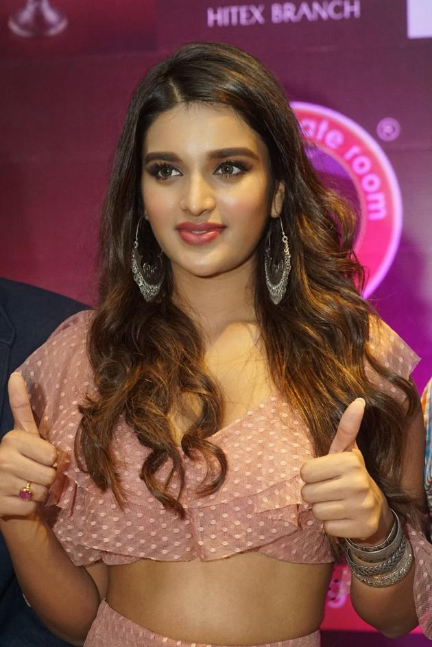 Nidhhi Aggerwal Launches Chocklate Romm Store in Hitex City Photos