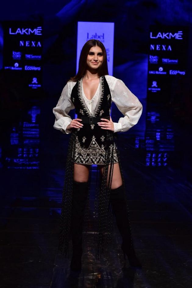 Tara Sutaria walks The Ramp At Lakme Fashion Week