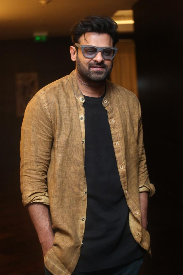 Rebel Star Prabhas Interview Photos