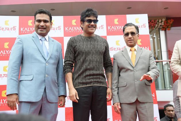 Nagarjuna Launches AS Rao Nagar Kalyan Jewellers Photos