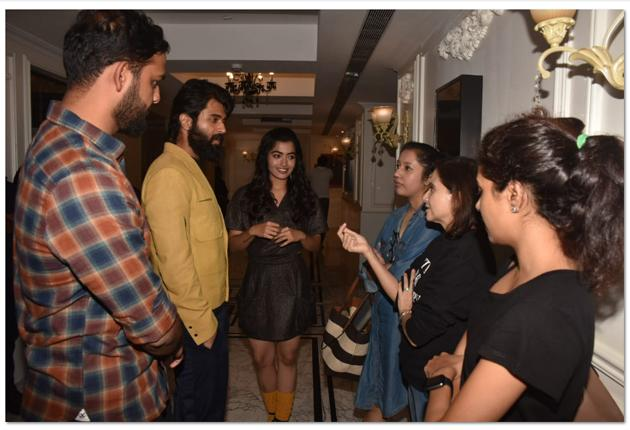 Dear Comrade Special Screening in Mumbai Photos