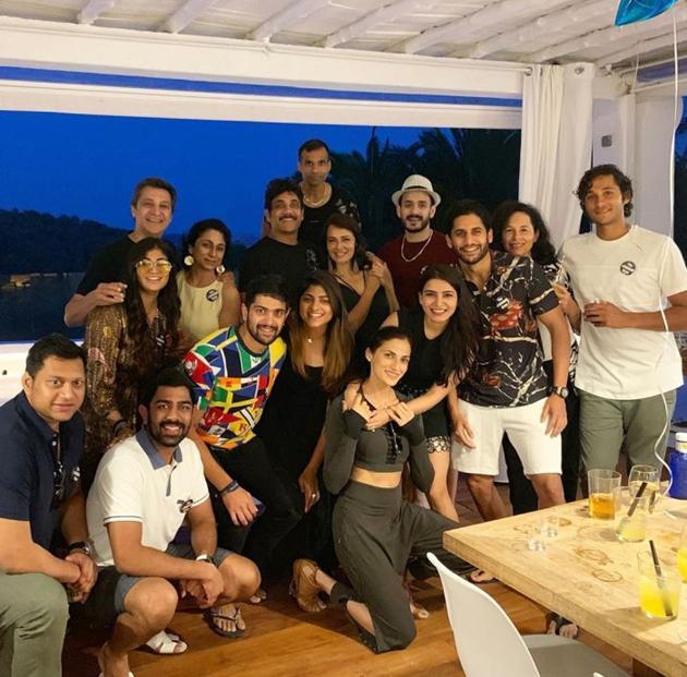 Akkineni Family Spain Vacation Photos