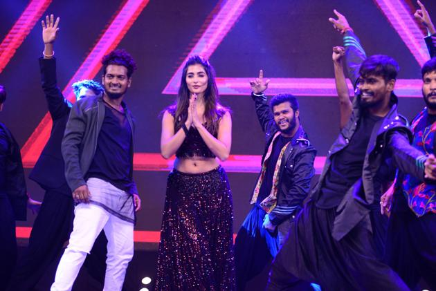 Pooja Hegde Dance Performance At Cinemahotsavam Event Photos