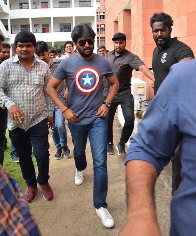 Gang Leader Team At VVIT Guntur Photos