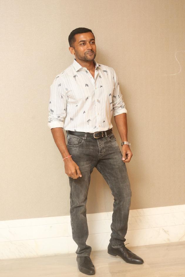 Surya Interview Photos