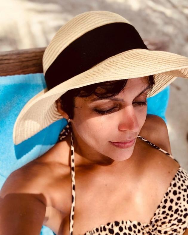 Mandira Bedi In Bikini Photos