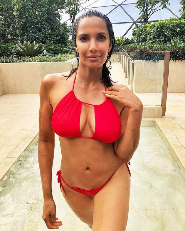 Padma Lakshmi In Bikini Photos