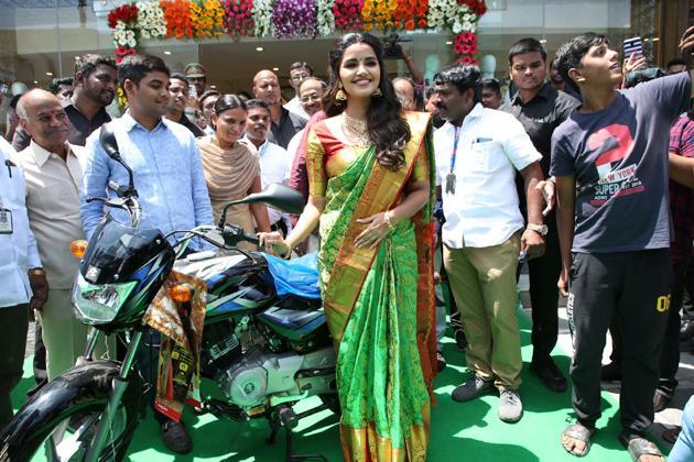 Anutex Shopping Mall Grand Festival Prizes Launched by Actress Anupama Parameswaran