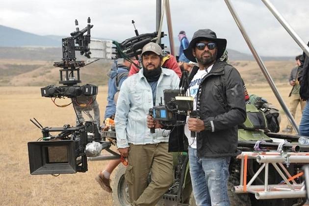 Sye Raa Movie Working Photos